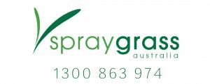 Spray Grass Logo Design