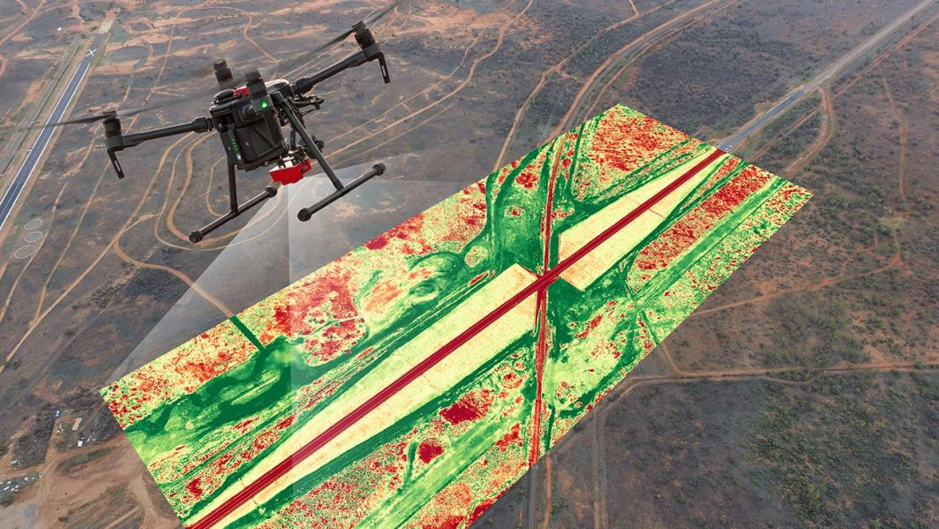 Drone Monitoring Alice Springs NDVI