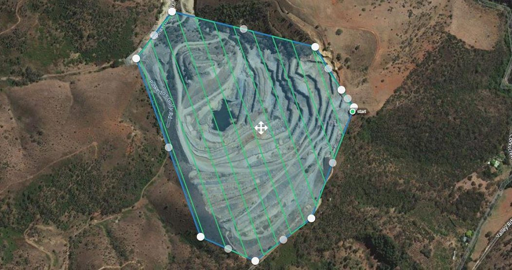 Drone Seeding Flight Plan