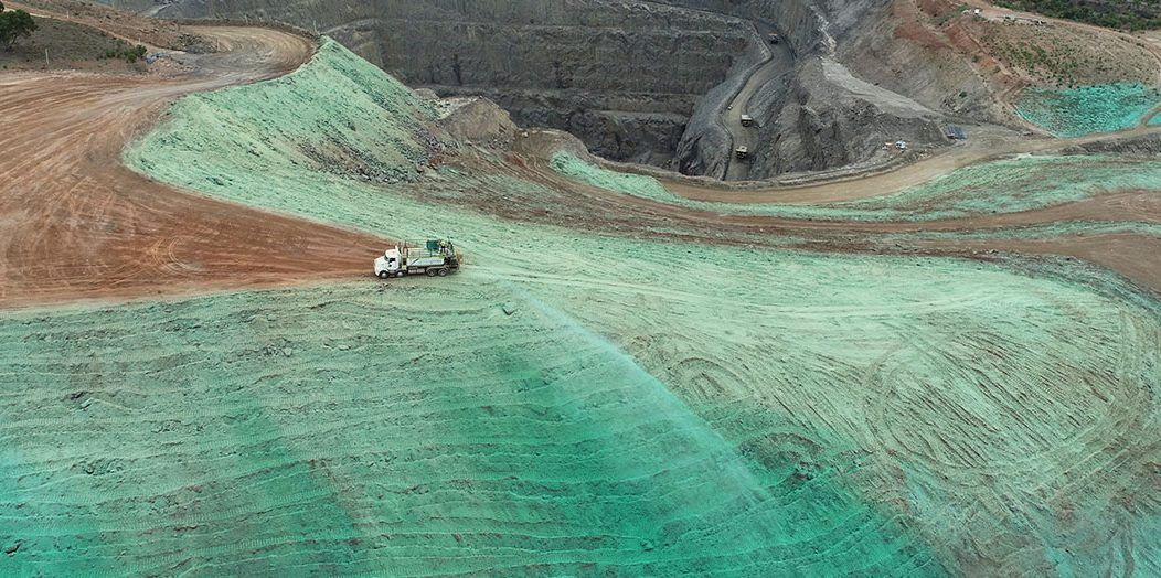 Hydromulching HGM Hillgrove Resources