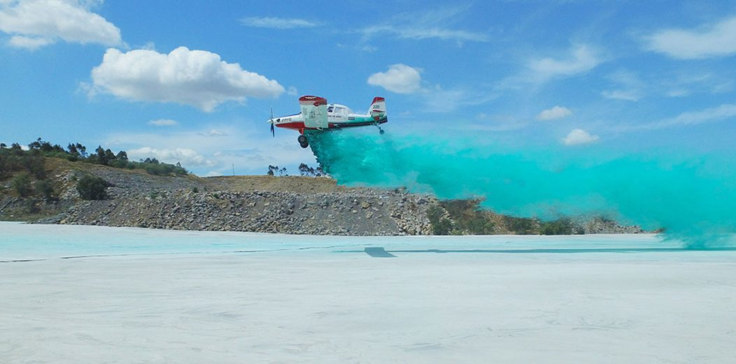 Dust Control Aerial Spraying